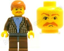 Lego Harry Potter Minifigure Uncle Vernon Set 4728 100% REAL