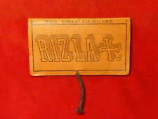 RARE PERFECT ORIGINAL CA 1900 COMPLETE PACKAGE OF RIZLA CIGARETTE ROLLING PAPERS
