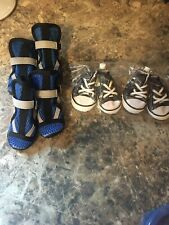 Dog Shoes Sneakers And Boot Lot