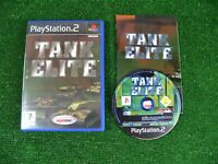 PLAYSTATION 2 GAME 'TANK ELITE' **COMPLETE WITH MANUAL **SONY PS2
