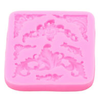 Cake Decoration Lace Embossing Mold Silicone Mold Mat Eco-Friendly Fondant QK