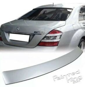 2007-2013 For Mercedes BENZ W221 4DR S-class Roof Spoiler Painted 775