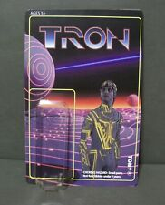 Custom card and blister for VINTAGE themed TRON figure  LEGACY / 1982 / CLU