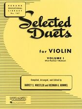 Selected Duets for Violin Volume 1 Medium First Position Ensemble Coll 004472660