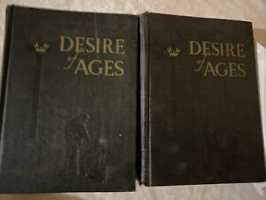 The Desire Of Ages Mrs E G White Volume 1 & 2 Hardcover 1951