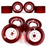 4pcs 52mm 78A Red Electric Skateboard Wheel Cruider Longboard Racing Wheels