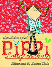 Pippi Longstocking by Astrid Lindgren (Hardback, 2007)