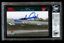Mario Andretti signed autograph 1992 Collect-A-Card Andretti Racing Card BAS