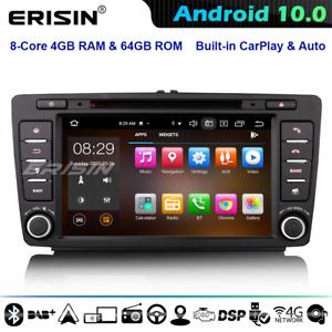 8-Core Android 10 Car Stereo Head Unit Skoda Superb Octavia Yeti Rapi CarPlay CD