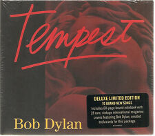 "BOB DYLAN ""Tempest"" Deluxe Limited Edition CD sealed"