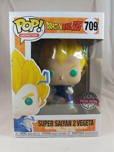 Animation Funko Pop - Super Saiyan 2 Vegeta - Dragon Ball Z - No. 709