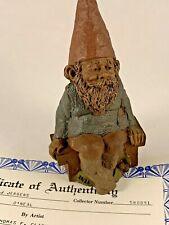 O'Neal 1984 Tom Clark Gnome Figurine 1019 Coa No Story 11