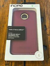 GENUINE Incipio Octane Raspberry Case For Motorola Moto Z2 Force Edition