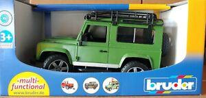 Bruder #02590 Land Rover Defender Station Wagon -New-Factory Sealed! #2590