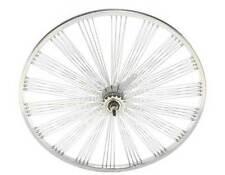"BICYCLE 24"" REAR FAN WHEEL 140 SPOKES COASTER CRUISER LOWRIDER"