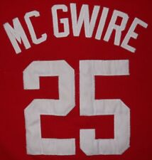 Mens Vintage Red STARTER ST LOUIS CARDINALS MARK MC GWIRE Jersey size M