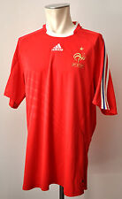 2008-10 France maillot taille XL adidas les bleus Away FFF jersey France