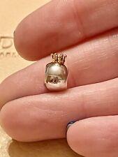 Genuine Pandora Silver & 14k Gold Kings Crown Charm 790122