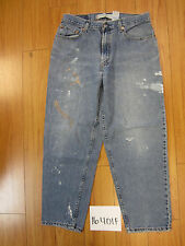 used Levis 560 destroyed feathered grunge jean tag 34x30 meas 32x28.5 16401F