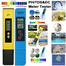 2pcs Medidor de pH Digital LCD TDS EC Probador Multifuncional Pluma ES