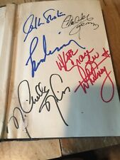 New ListingMultiple Star Trek Cast Member Autographs In StarTrek Probe Nimoy Whitney Koenig