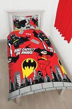 Super-héros DC LEGO Batman Kharrat Set Housse de couette Simple