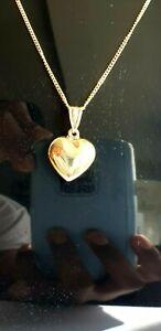 9CT GOLD HEART PENDANT *** BRAND NEW ***
