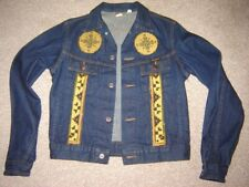 """DIKIES 'BRANDERS' WESTERN RODEO RIDER DENIM JACKET, SIZE 36"""" CHEST, MADE IN USA"""
