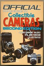 Official Price Guide to Collectible Cameras libro 1985 in inglese L096
