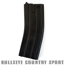 Nuprol Airsoft M Series Mid-Cap Magazine 140 Rd Black Metal 6mm bb's 002-001