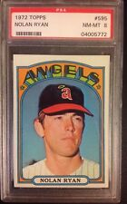 1972 Topps Nolan Ryan California Angels #595 Baseball Card
