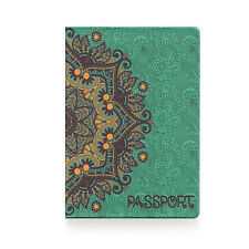 Passport Holder GOLDEN PATTERN, cover Document ID Travel case protector skin