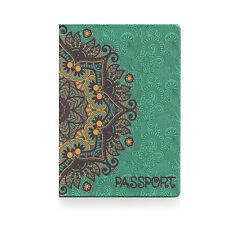 Passport Holder GOLDEN PATTERN, cover Document ID Travel case protector skin