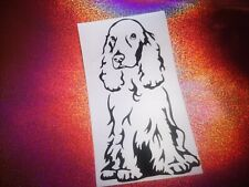 COCKER SPANIEL  dog lover cool car window bumper vinyl sticker/decal
