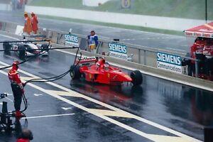 "1:18 Schumacher Ferrari F300 GP Spa ""3-Rad-Umbau"" + Coultahrd MP4/13"