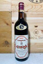 1966 Cirovin Ciro Classico Riserva