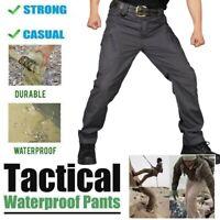 UK Soldier Tactical Waterproof Pants Men Cargo Pants Combat Hiking Outdoor