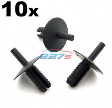 10x 7mm Plastic Trim Clip Rivets for BMW- for Shields, Covers, Trims & Linings