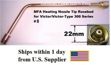 MFA Heating Nozzle Tip Rosebud for Victor/Victor-Type 300 Series #8 (1187-8)