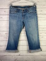 CITIZENS of HUMANITY Kelly #063 Low Waist Cropped Jeans Capris Sz 29 (30x23)