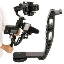 CN_ Handheld L-Shape Handle Mount Gimbal Bracket for DJI Ronin S DSLR Camera _GG