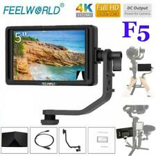 "FEELWORLD F5 5"" HD 4K HDMI Camera Field DSLR Monitor with Tilt Arm for DJI"