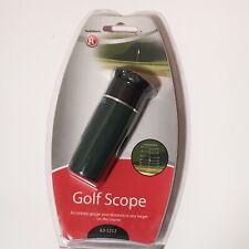 Radio Shack 8x21mm 63-1212 Golf Rangefinder Scope With Case