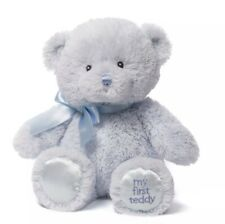 "Baby Gund - My First Teddy 10"" New With Tags Ships Free"