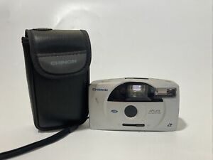 Vintage Chinon APS-650 All Glass Lens  APS film Camera with Case, VGC Working