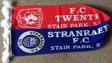 Stranraer v FC Twente - International Friendly 08/07/17 Half/Half Scarf