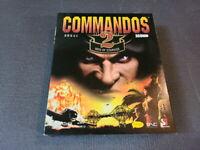 Commandos 2 Men of Courage PC Game CD Eidos Korean Version Big Box Ultra Rare