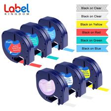 Dymo Letratag Label Tape Plastic - Ultra Blue