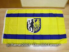 Fahne Flagge Oberschlesien Beuthen Bytom - 90 x 150 cm