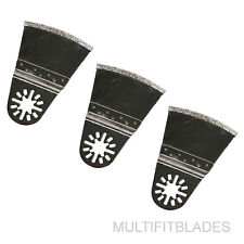 "3 x 2-5/8"" Oscillating Tool Flush Cut Diamond Blade - Milwaukee Multi Tool"